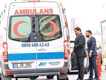 Estambul ambulancia denuncia transportar pasajeros