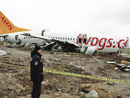 Estambul avion pegasus accidente