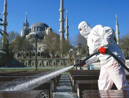 Estambul desinfeccion coronavirus