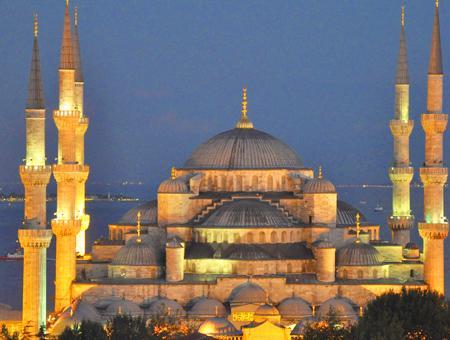 Estambul mezquita azul ramadan