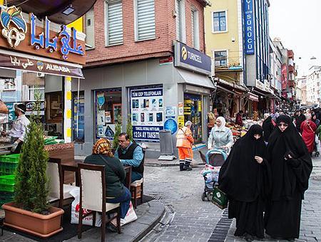 Estambul poblacion sirios