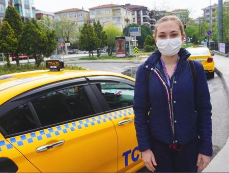 Estambul taxi trabajadores salud