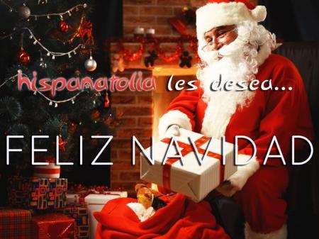 Feliz navidad hispanatolia