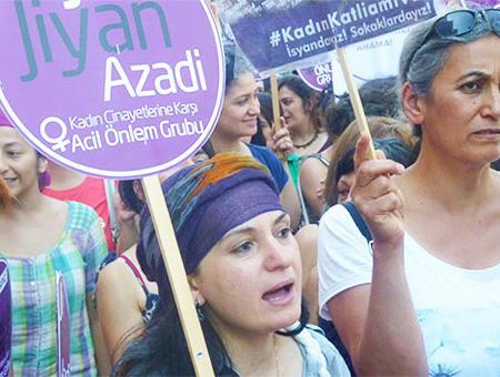 Manifestacion mujeres violencia genero