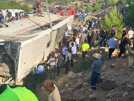 Turquia accidente autobus