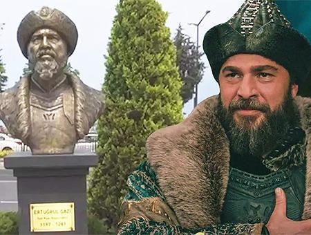 Turquia busto ertugrul actor