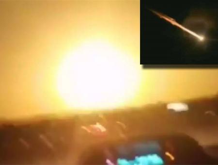 Turquia meteorito impacto