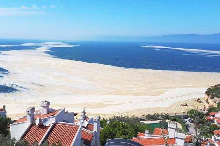 Turquia moco marino mucilago mar marmara