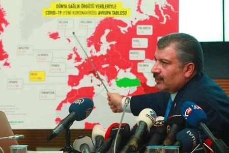 Turquia propagacion pandemia coronavirus