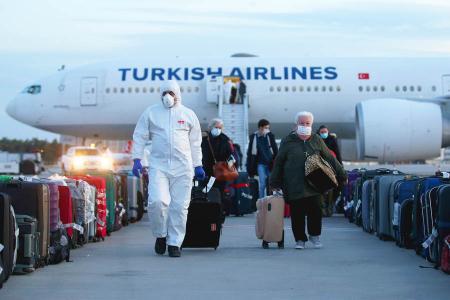 Turquia vuelos pandemia coronavirus