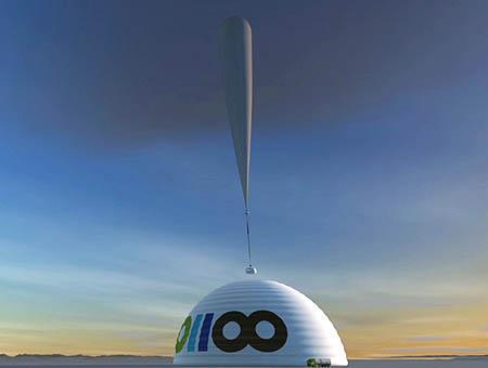 Imagen simulada del despegue del módulo de viaje