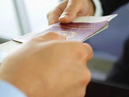 Visado pasaporte