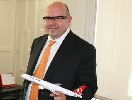 El director de Turkish Airlines en Madrid, Ali Doruk