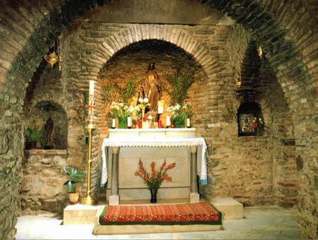 Casa virgen maria efeso