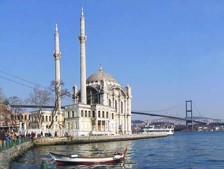 Mezquita ortakoy estambul