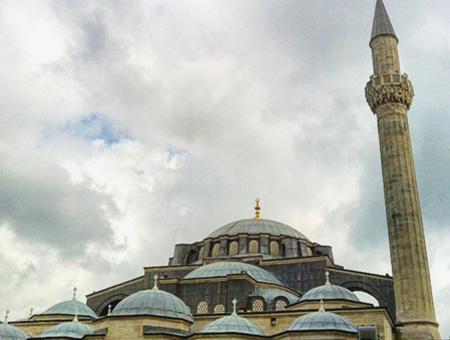 Exterior de la mezquita Kılıç Ali Paşa