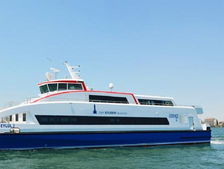 Izmir ferry barco