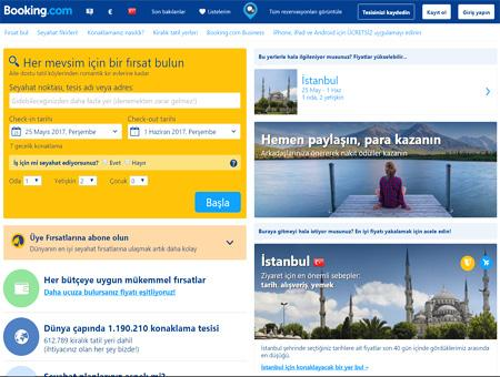 Booking web turquia