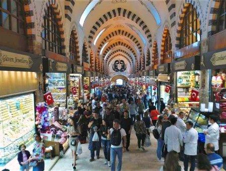 Estambul bazar especias egipcio
