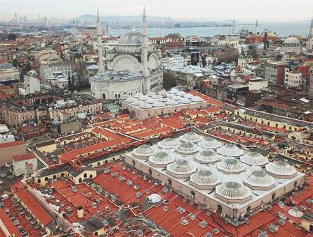 Las obras de restauración del Gran Bazar de Estambul concluirán en tres meses