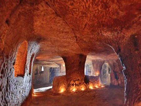 Kirsehir ciudad subterranea capadocia