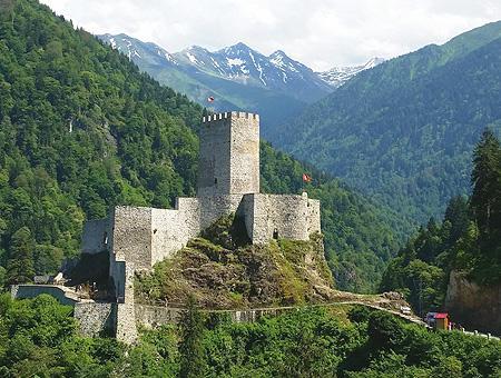 Rize castillo fortaleza zilkale
