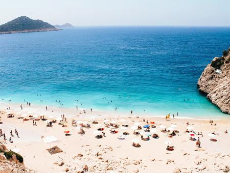 Antalya playa kaputas