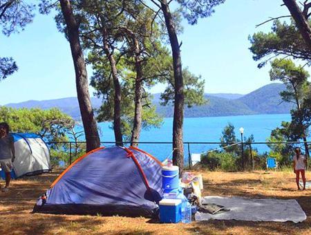 Balikesir ayvalik camping vacaciones