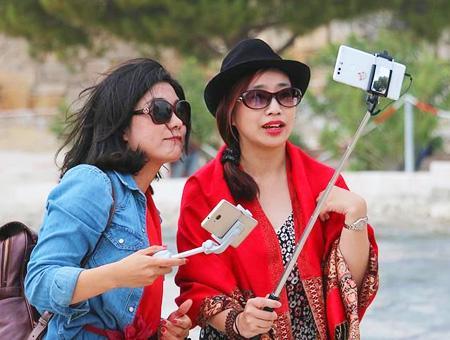 Capadocia turistas chinas