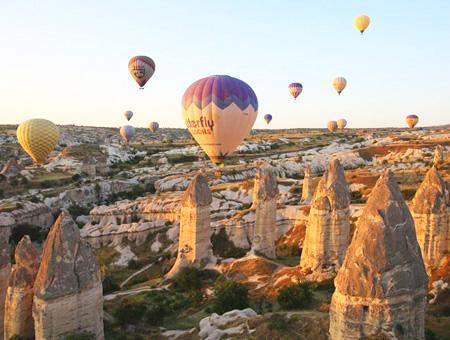 Capadocia vuelos tours globo