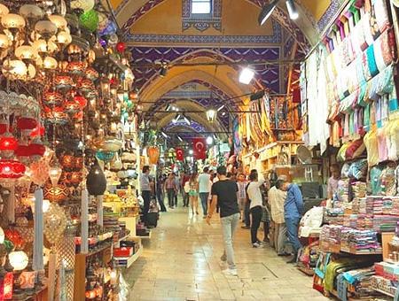 Estambul gran bazar tiendas