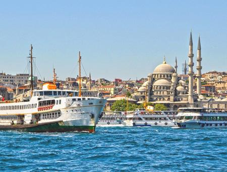 Estambul turismo ferries bosforo