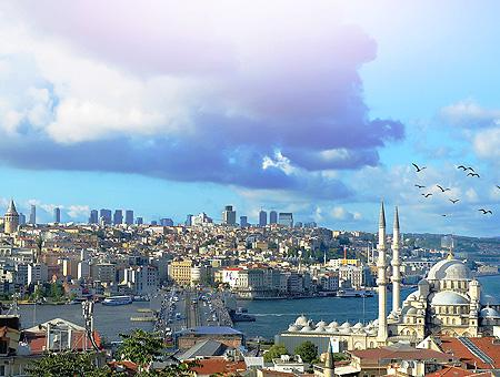 Estambul vista puente galata