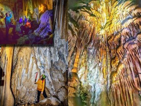 Hakkari cueva estalactitas