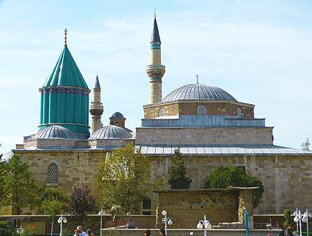 Konya museo mausoleo mevlana rumi