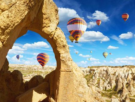 Turismo turquia capadocia vuelos globo