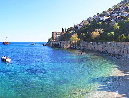 Antalya astilleros alanya mar