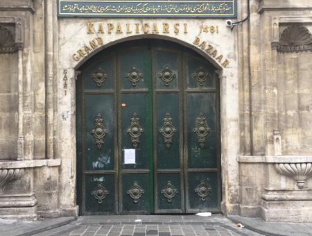 Estambul bazar cerrado coronavirus