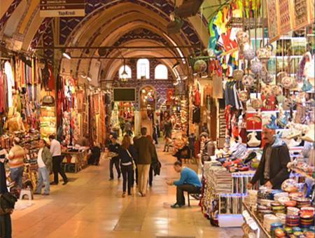Estambul gran bazar turismo