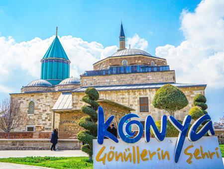 Konya museo mevlana rumi