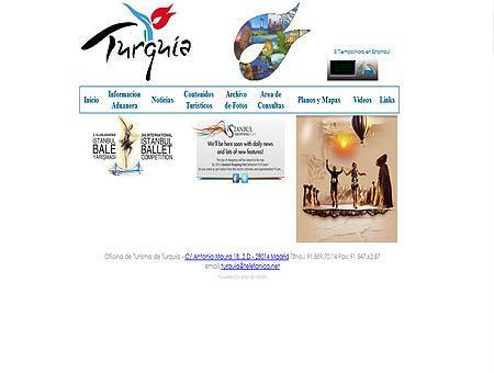 Oficina turismo turquia