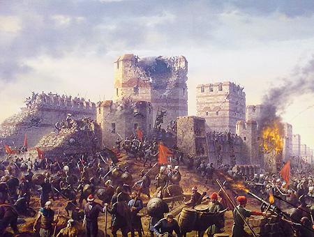 1453 caida constantinopla turcos bizantinos