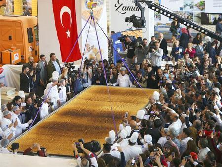 Ankara baklava record grande