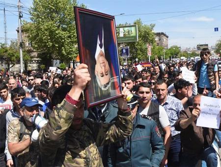Armenia protestas oposicion
