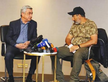 Armenia sargsyan pashinyan oposicion