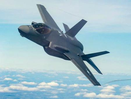 Caza combate f35