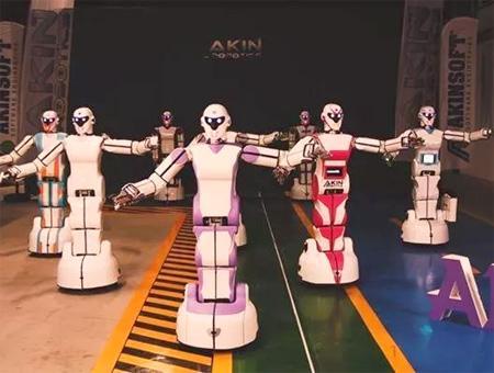 Danza robots akinsoft