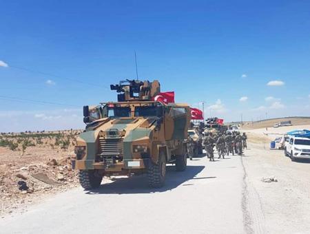 Ejercito turco siria manbij