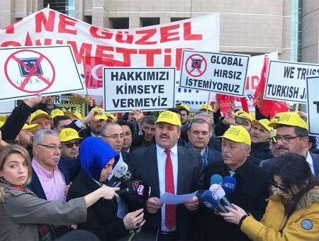 Estambul protesta taxistas uber