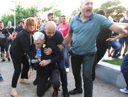 Grecia linchamiento alcalde tesalonica